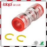 Cable de fibra óptica Accesorios-Gas / Agua Bloque Microconducto, fibra óptica guarniciones, acoplador y el extremo del enchufe