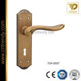 Goldpalast-Tür-Verschluss-Zink-Legierungs-Tür-Platten-Griff (7007-Z6112)