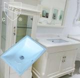 Cupc aprovou a bacia contrária inferior retangular cerâmica do banheiro (SN015)