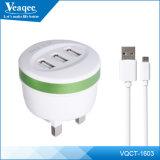 Фабрика заряжателя батареи мобильного телефона USB Veaqee 3