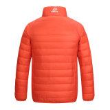 Вниз перо куртки вниз градуирует куртку пигментной грунтовки на дети 603 человека