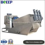Deshidratador de desecación del lodo de la prensa de tornillo en proyecto municipal del tratamiento de aguas residuales
