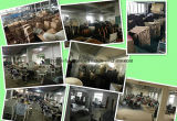 Großhandelsgaststätte-Möbel mit Teakholz-Tisch-und Rattan-Stühlen