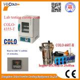 Cl660-T-H를 가진 오븐 Colo-4355-T를 치료하는 실험실 실험 분말 코팅