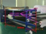 달력 직물 직물을%s 열전달 기계를 구르는 회전하는 열 압박 승화 롤