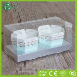 Jetable emporter la boîte en plastique à gâteau de caisse de gâteau de l'affichage 2