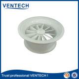 Diffusore rotondo di turbinio dell'aria di colore bianco per uso di ventilazione