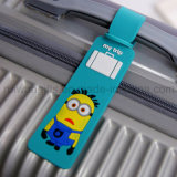 Cartoon Soft PVC Rubber ID Identificar Tag