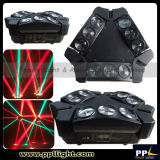 가장 새로운 9PCS 3W RGB LED Mini Moving Head Spider Light