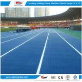 il materiale corrente di gomma atletico della pista di 13mm mette in mostra la pavimentazione