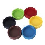 Cenicero inastillable lavable cómodo multicolor del silicón de Eco