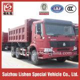 HOWO 덤프 트럭 판매를 위한 25 톤 Sinotruk 덤프 팁 주는 사람