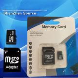 Carte mémoire 16GB avec l'adaptateur ou l'emballage libre en vrac