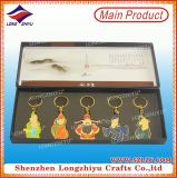 Kundenspezifisches Metall Keychain der Gott des Reichtum-Decklacks Keychain