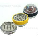 3 Schicht-kugelförmiger Schleifscheibe-Form-Rauch des Plastikrauch-Schleifers