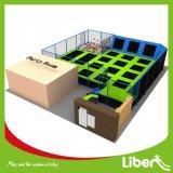 Parque de interior del trampolín grande del aire de Liben Commerial