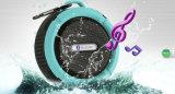 Gymsense Ipx65 Bluetoothのシャワーのスピーカー、吸盤の自転車のスピーカーを持つBluetoothの防水スピーカー