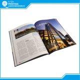 Drucken-Farbe und B/W Taschenbuch-Papierbuch