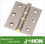 "3 "" X2.5 ""鋼鉄ドアのハードウェアのシャワーのヒンジ(鋼鉄または鉄の締める物)"