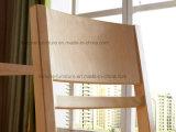 Laque claire UV moderne en bois solide dinant la présidence (AD-FA-W801-CY)