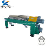 Centrifugador horizontal do filtro da descarga do rolo