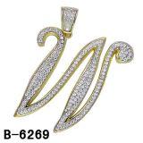 Argento Pendant 925 della lettera degli accessori di modo di alta qualità