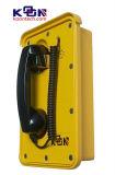 Teléfono impermeable IP66 Knsp-10 del teléfono enrasado resistente del montaje del vándalo
