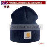 アクリルの帽子の帽子の防寒帽は遊ばす帽子(C1057)を