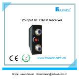 La ricevente ottica di Wdm di FTTH, ha immesso 1550/1490 /1310nm, l'uscita CATV LA rf 1490/1310nm