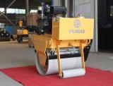Sola caminata del tambor detrás del rodillo vibratorio del motor diesel (FYL-600C)