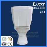 Heiße Verkaufsförderungs-gesundheitliche Ware-zweiteiliges Toiletten-WC