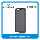 Caso de reserva externo de energía del cargador de batería trasera para el iPhone 6