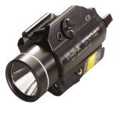 Linterna montada sobre carriles del arma de Streamlight 69120 Tlr-2 C4 LED con la vista del laser, negra