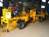 M7mi南アフリカ共和国の移動式土の粘土の煉瓦作成機械