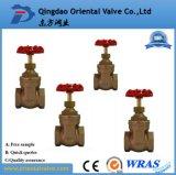 Válvula de porta de bronze com baixo preço Dn 25