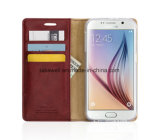 Samsung J2/J5j6/J7 Cell Phone Caseのための中国Wholesale Mobile Cover Custom Design Luxury PU Leather Case