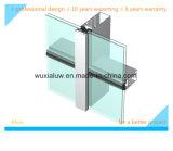 Rahmen unterstützte Glaszwischenwand