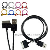 iPhone 4를 위한 튼튼한 Braided Perfume Charging Cable