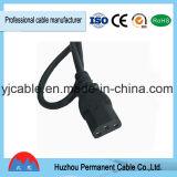 Wechselstrom-Netzkabel-Kabel-Monitor-Computer3 Pin-Netzanschlusskabel