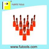 Festes Hartmetall-kundenspezifisches Ausschnitt-Hilfsmittel für Metallbohrung