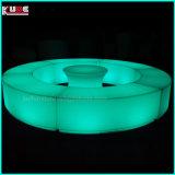 Штанги Prtable пластмассы накаляя и освещают вверх напольную мебель