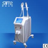 Le double rajeunissement de peau de machine d'épilation de chargement initial de traitement choisissent dispositif d'enlèvement d'acné de soins de la peau d'Elight