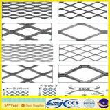 電流を通された拡大された金属の網