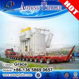 Reboque modular hidráulico automotor da linha central Multi-Directional resistente da capacidade do transportador 100~900tons