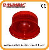 セキュリティシステムの火災報知器のアドレス指定可能な可聴周波か視覚アラーム(640-004)