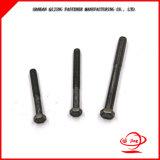 DIN933 il grado 8.8 in pieno filetta il bullone mezzo della sfortuna del acciaio al carbonio del filetto DIN931