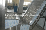 Máquina de congelação rápida de congelação fluidificada congelador da correia do engranzamento de IQF
