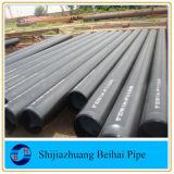 Tubo inconsútil Sch40 del acero de carbón del estruendo St37 los 6m