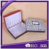 Contenitore di regalo crema di lusso stampato marchio del cartone del documento dell'oro
