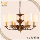 chandelier light white glass antique bronze E14(MD7387)
